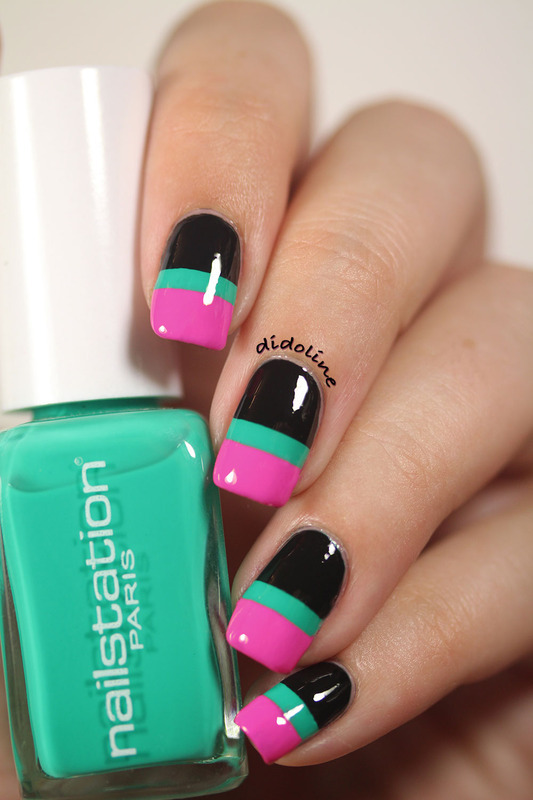 Fashion Friday Nails Inspired by Dima Ayad nail art by Dorra (didoline)