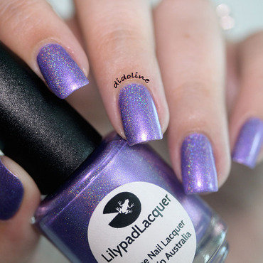 Lilypad Lacquer Purple People Eater Swatch by Dorra (didoline)