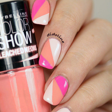 Neon Nails nail art by Dorra (didoline)