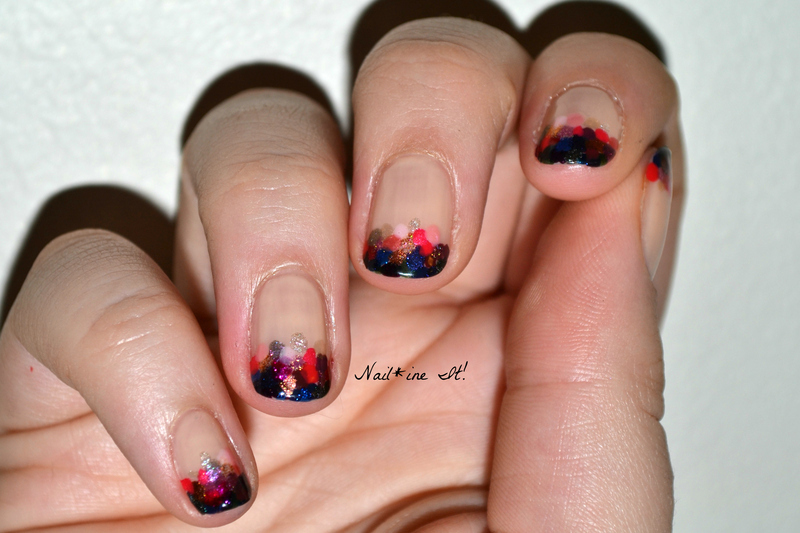 French Dotticure nail art by Christine of Nail*ine It!