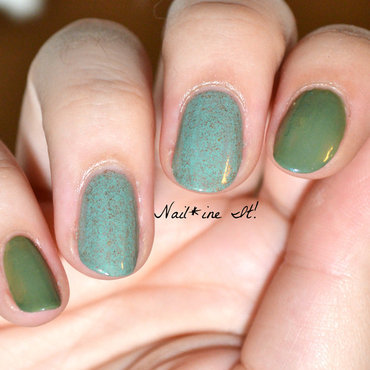 Butter london two finger salute zoya gemma green nails 76w thumb370f