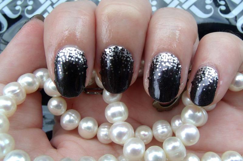 Midnight Celebration nail art by Toria Mason - Nailpolis: Museum of ...
