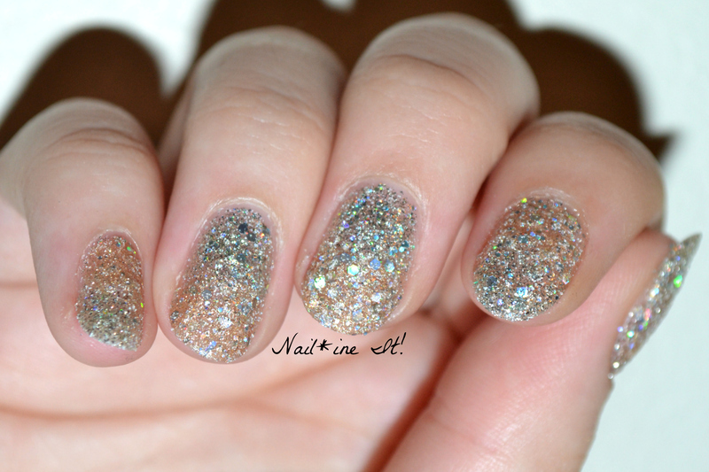Subtle Pixie Dust Gradient nail art by Christine of Nail*ine It ...