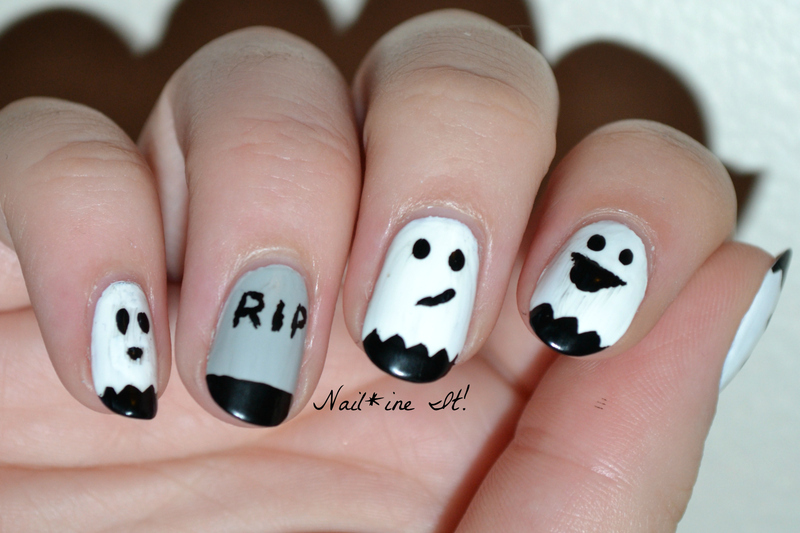 Ghosts tombstones tutorials oh my nail art by christine of ghosts tombstones tutorials oh my nail art by christine of prinsesfo Gallery