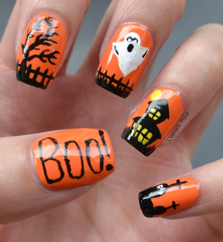 This is Halloween! nail art by Jayne