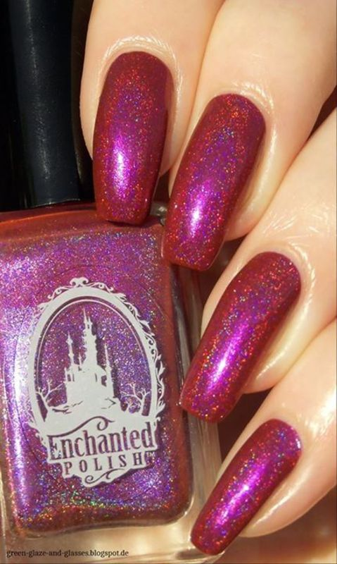 Enchanted Polish Lobster Roll Swatch by greeench
