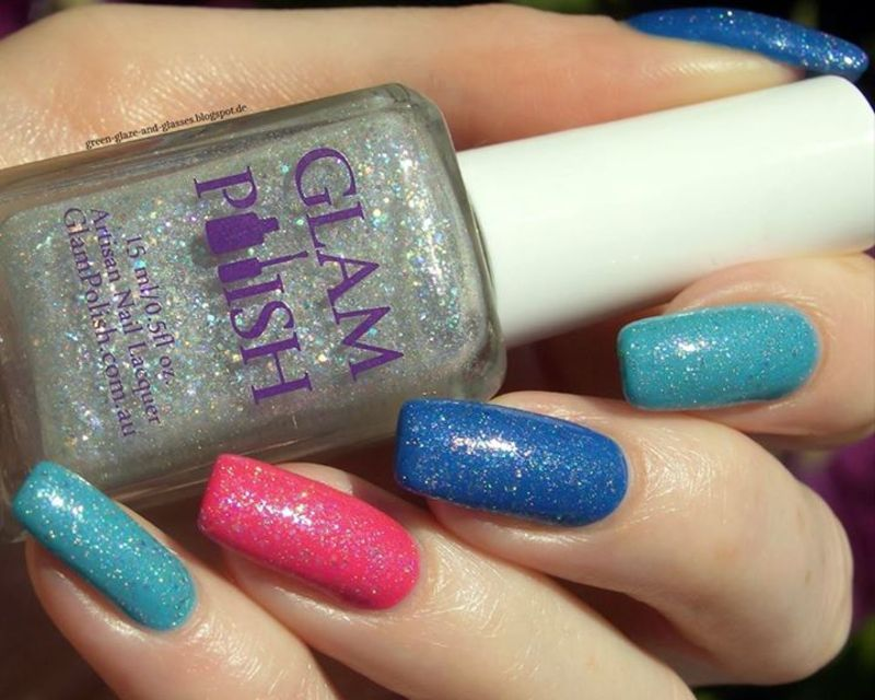 Glam Polish To a Night The Four Of Us Will Never Forget Swatch by greeench