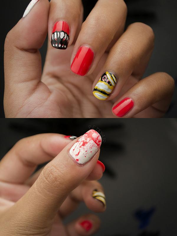 Happy Halloween! nail art by Ayaka Shiroyama