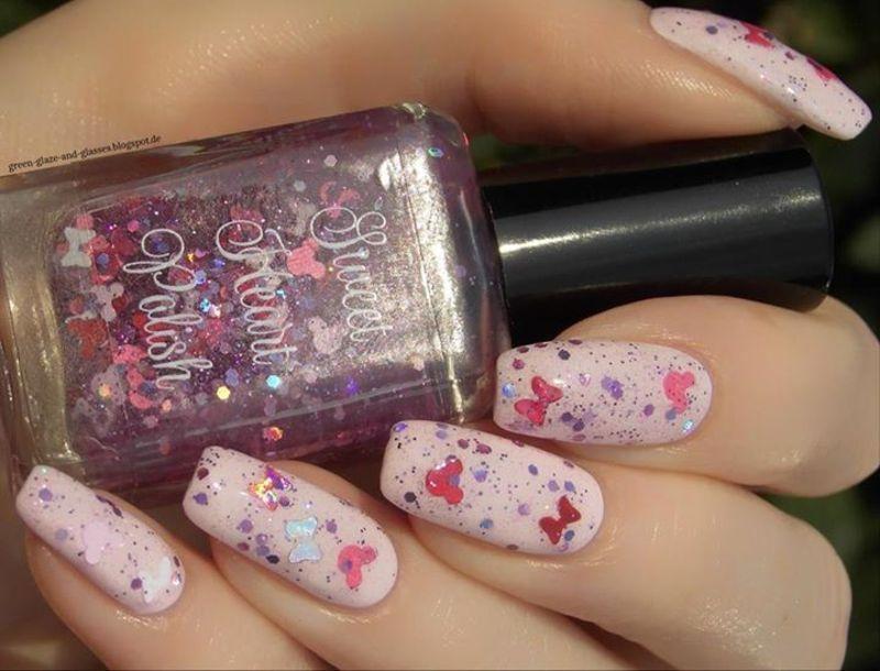 Sweet Heart Polish Disney Bounding Swatch by greeench