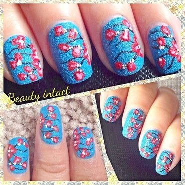 Texture nail art by Beauty Intact