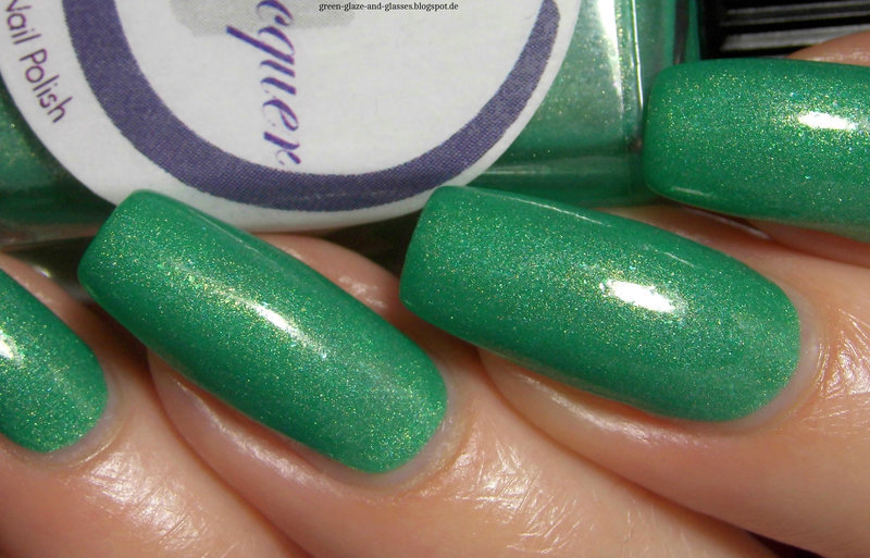 Cadillacquer The Woods Swatch by greeench