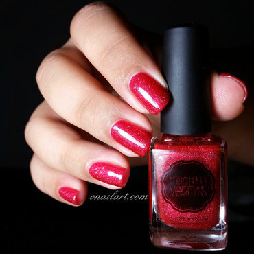 Il était un vernis No comment Swatch by OnailArt