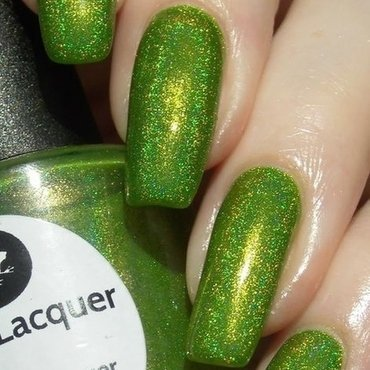 Lilypad Lacquer Frogs Alive Swatch by greeench