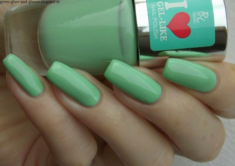 Rival De Loop 07 Mint, Myself And I Swatch by greeench