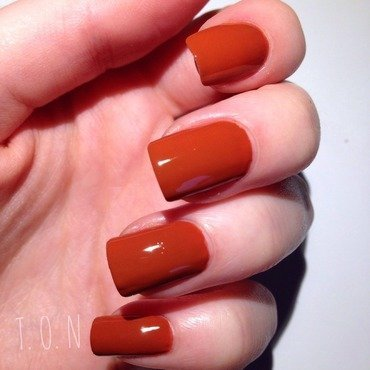 Barry M Paprika Swatch by Tipped Off Nails