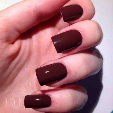 Barry M Cocoa Swatch by Tipped Off Nails