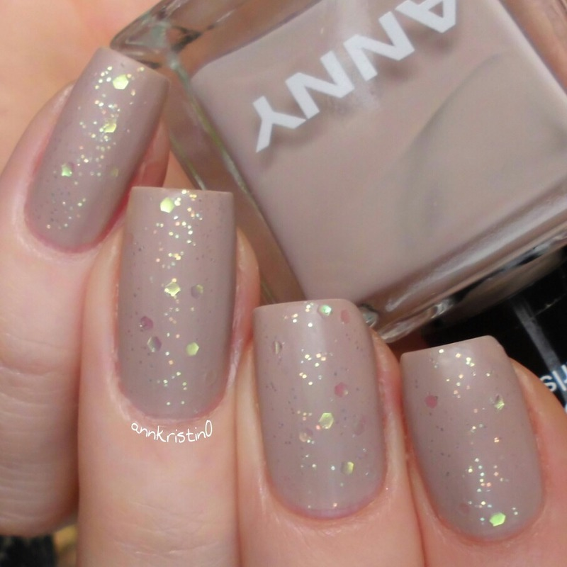 Anny Starlight, Butter London Matte Finish, and Anny girl's day Swatch by Ann-Kristin
