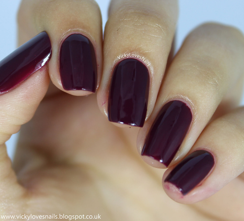 OPI In The Cable Carpool Lane Swatch by Vicky Standage