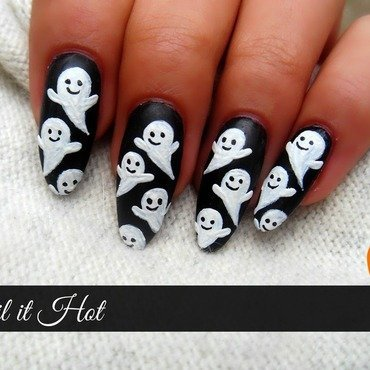 Halloween nail art by Nail_it_hot