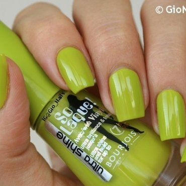 Bourjois Lime Catwalk Swatch by Giovanna - GioNails