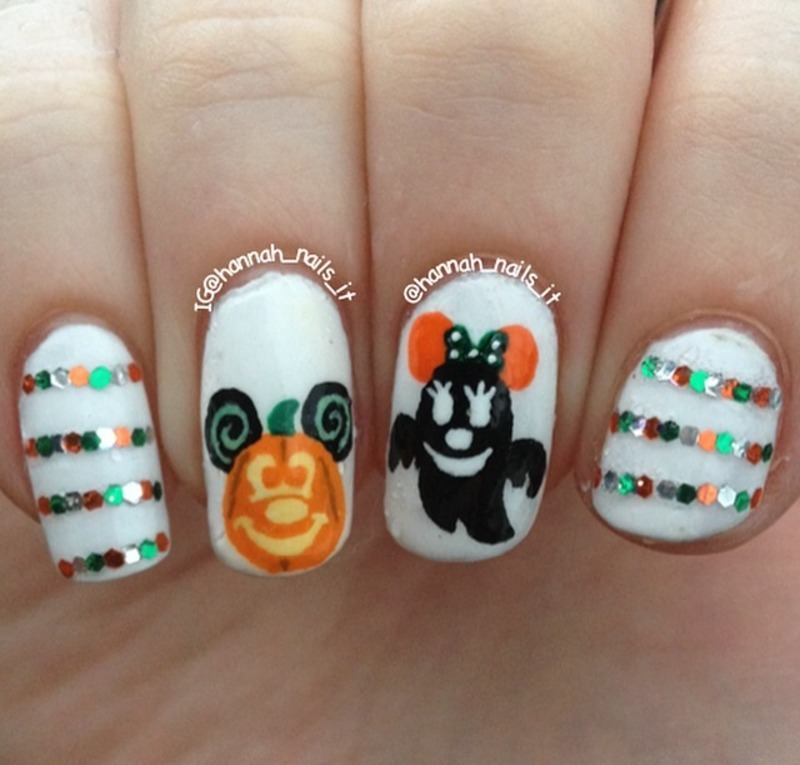 Disney Halloween nail art by Hannah - Nailpolis: Museum of ...