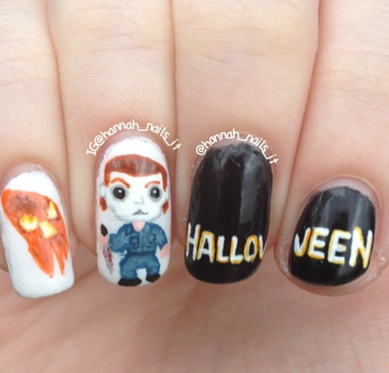 horror Nail Art and Swatches - Nailpolis: Museum of Nail Art