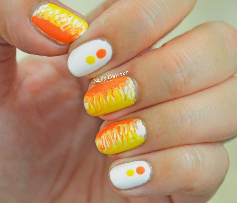 Dry Marble Nails nail art by NailsContext