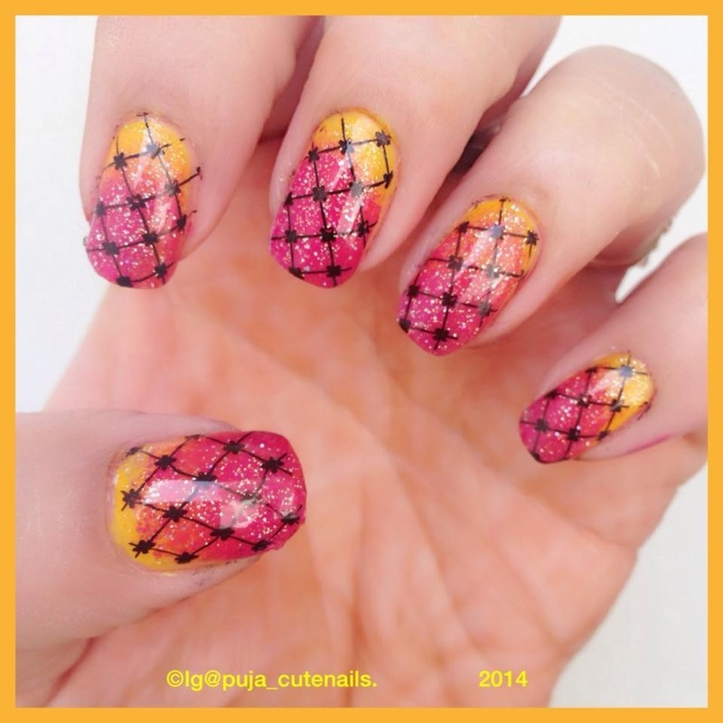 Diwali nails nail art by Puja Malhotra
