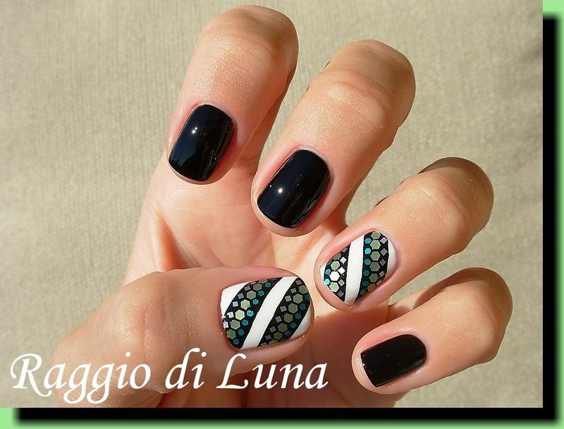 Mixed nail art mini glitter decoration nail art by Tanja