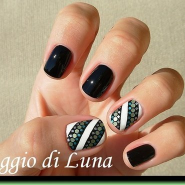 Mixed nail art mini glitter decoration nail art by Tanja