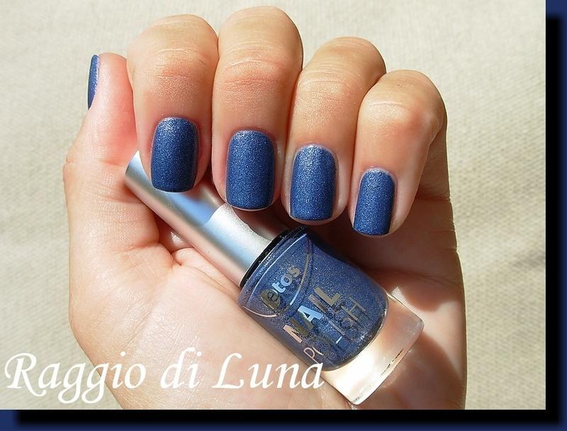 Etos Mat Velvet Blue Swatch by Tanja