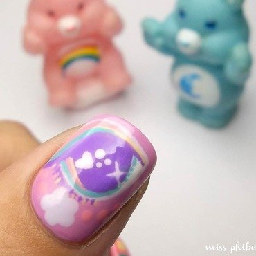 80s Cartoons nail art by MissPhibes