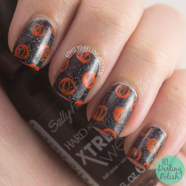 Nail art linkup idea pumpkins halloween 4 thumb370f
