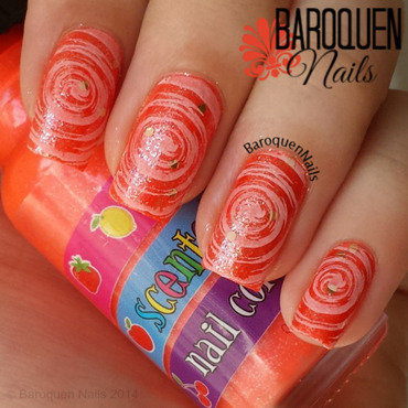 Love Potion I nail art by BaroquenNails