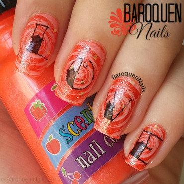 Love Potion nail art by BaroquenNails