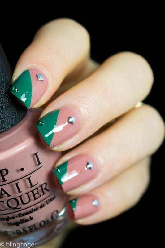 OPI Barefoot in Barcelona - Nail Art nail art by  Petra  - Blingfinger