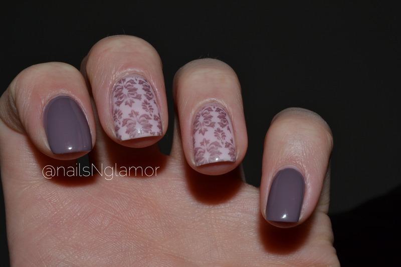 Classy taupe nails  nail art by Svetlana Tsad