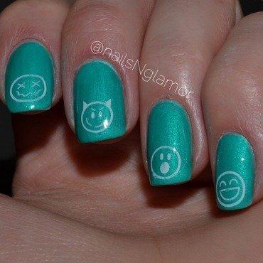 Happy nails  nail art by Svetlana Tsad