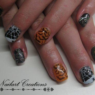 Halloween Mixture! nail art by Nailart Creations