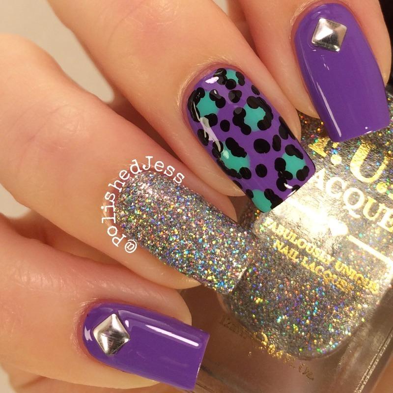 Glitter Mix and Match nail art by PolishedJess - Nailpolis: Museum ...