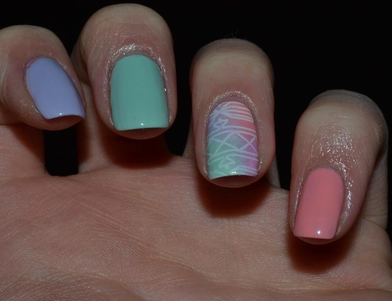 Pastel Nails nail art by Svetlana Tsad