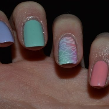 Pastel Nails nail art by Svetlana Tsad