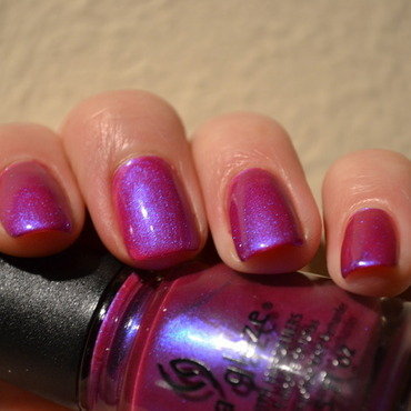 China Glaze Reggae to riches Swatch by Svetlana Tsad