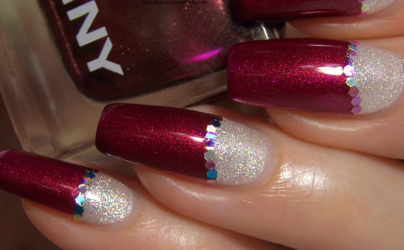Bling bling nail art by greeench