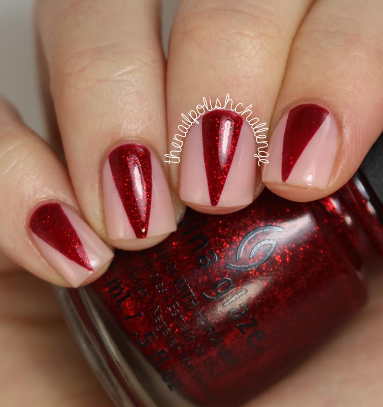 Sparkly Red Claws Nail Art Nail Art By Kelli Dobrin Nailpolis