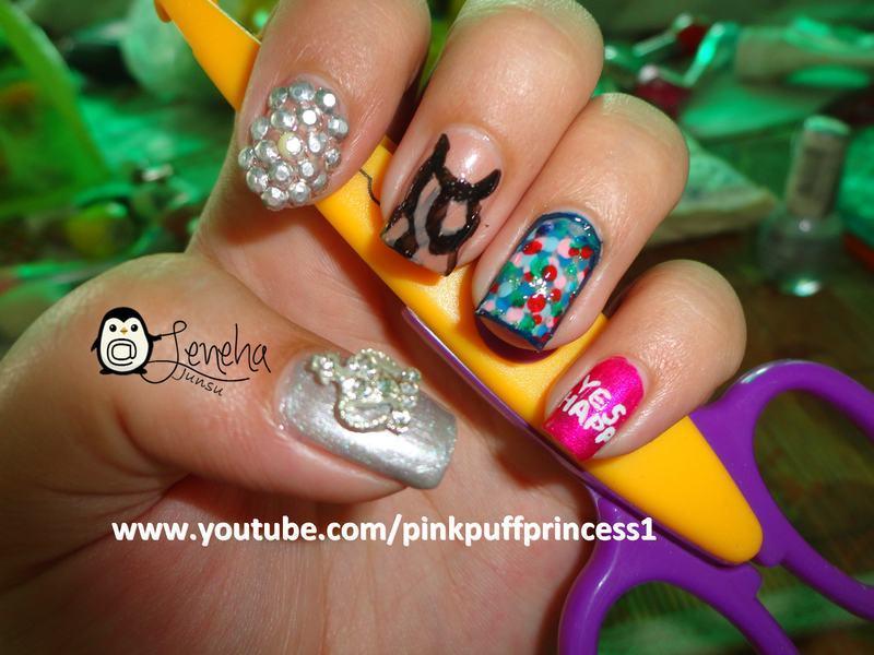 Princess Nails nail art by Leneha Junsu