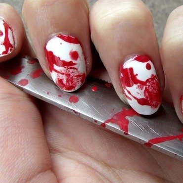 Blood splatter nails 6 thumb370f