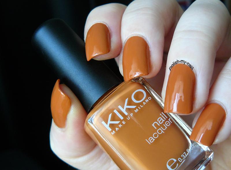 Kiko 368 Burned Orange Swatch by Ewlyn