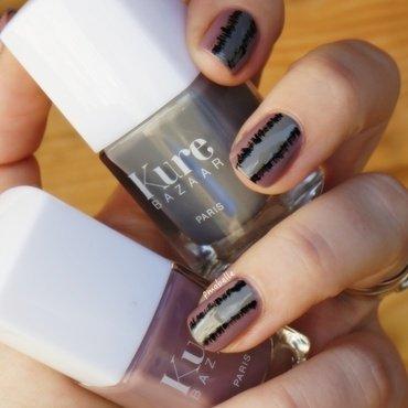 ikat nail art nail art by Pmabelle