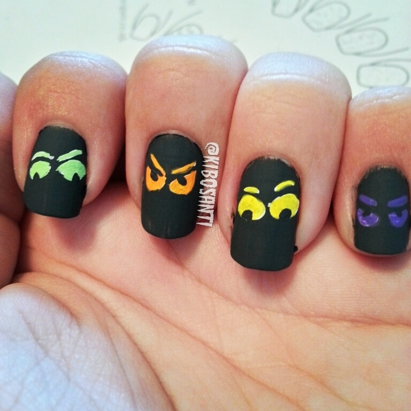 October Nail Art: October Challenge Day 21 Inspired By A Decoration Nail Art